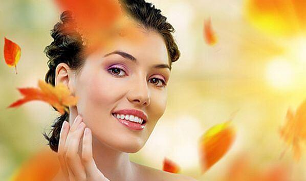 Уход за кожей лица осенью в домашних условиях