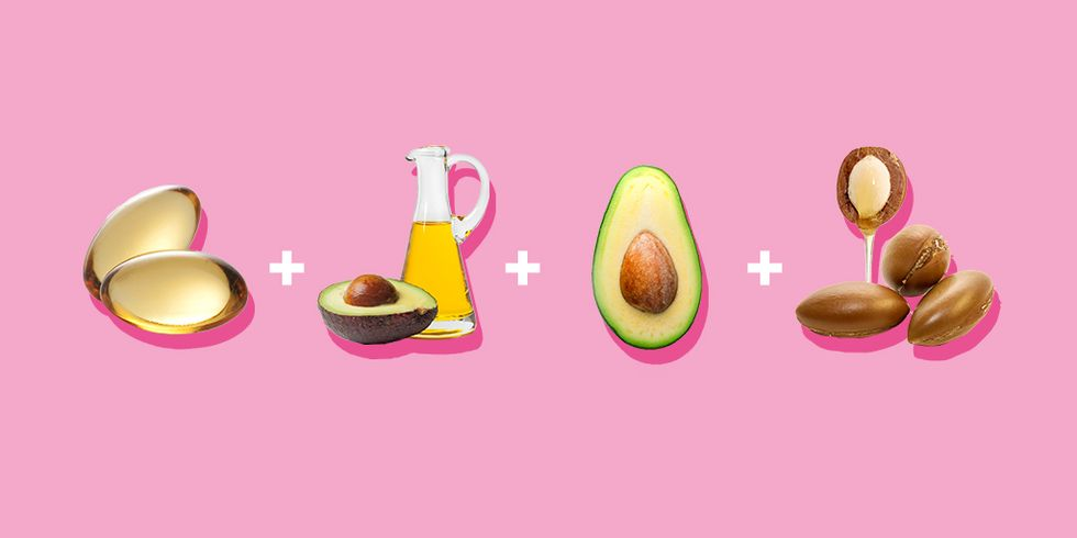 Противосполительная и восстанавливающая маска с витамином Е и авокадо