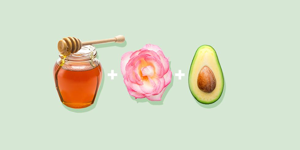 Успокаивающая и увлажняющая мака с медом, авокадо и шиповником