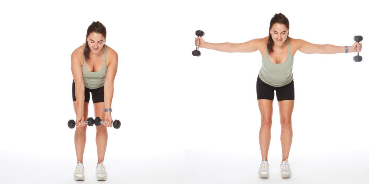 Упражнения для грудных мышц для женщины