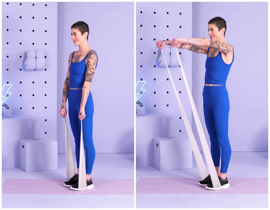 Упражнения для прокачки рук и плечей в домашних условиях