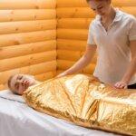 обертывание контура тела
